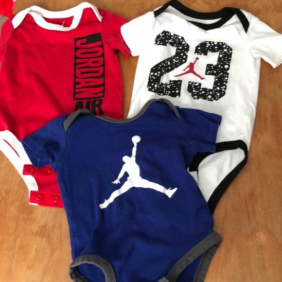 Baby Boy Jordan Clothes Simple Nike Shirts Tops Baby Boy Jordan Onesies Poshmark